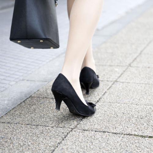 間違ったサイズの靴