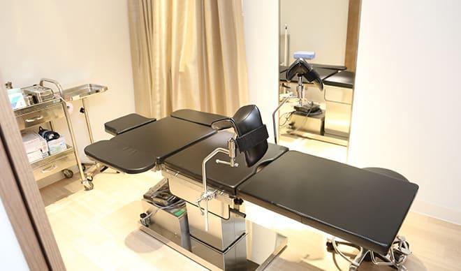恵比寿形成外科・美容クリニックの診療室